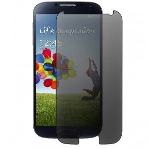 GALAXY S4 TEMPERED GLASS SCREEN PROTECTOR – PRIVACY