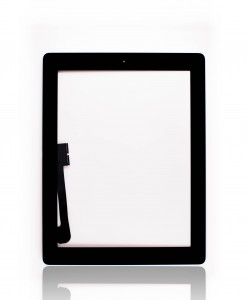 Ipad 3_4 digitizer black A