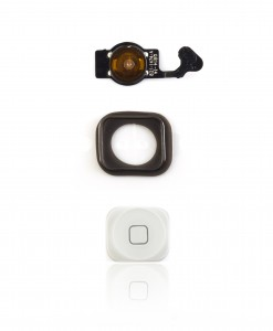 5 Home button assy white A